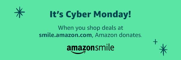AmazonSmile Cyber Monday 2019