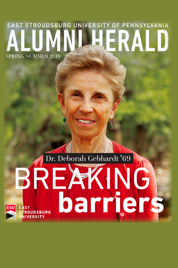 Spring/Summer 2019: Meet Dr. Deborah Gebhardt '69, this issue's cover story. Plus, all the latest alumni news, campus happenings, and more!