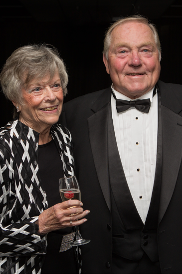 "Meet Arthur '62 and Fannie Greene '62 Schisler ""Giving from whence you got."""