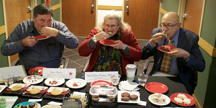 Holiday bake-off Judges
