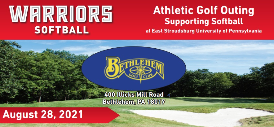 Athletic Golf Outing Supporting Softball