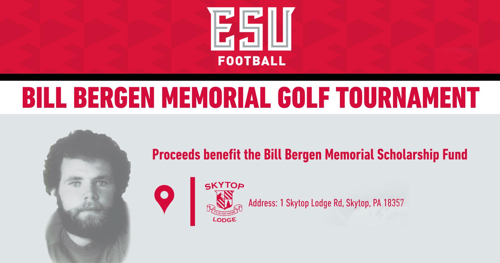 2021 Bill Bergen MemorialGolf Tournament Sponsorship Form