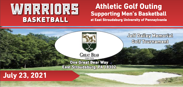 Warriors Athletic Golf Outing Supporting Men's Basketball